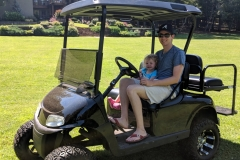 *New* Golf Cart available to rent during your stay. Ask Leslee for more details. Enjoy paths cut through the woods for golf cart rides or walking.
